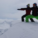 snow yoga con isa